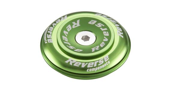 "Reverse Twister Top Cap 1 1/8"" Semi green"